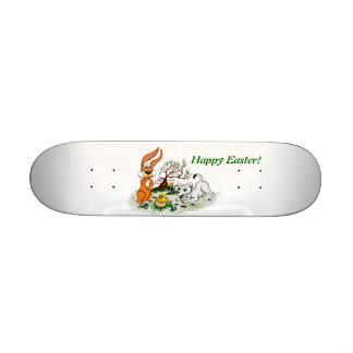 Happy Easter Welpe Küken Hase Personalisiertes Skateboard