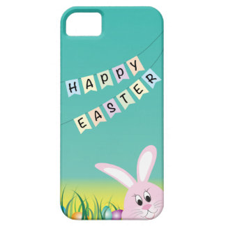 Happy Easter with Bunny Eggs iPhone 5/5S Cases
