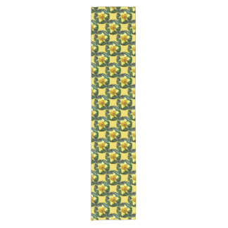 Happy Easter! Yellow Daffodil 02.3_rd Short Table Runner