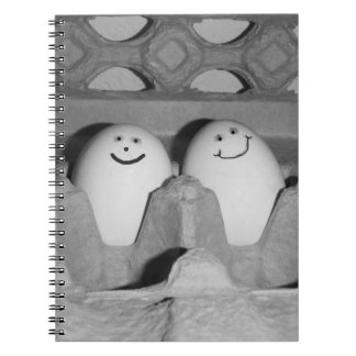 Happy Egg Friends Folder for School or Notes Notebooks
