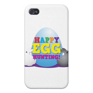 Happy EGG hunting Cases For iPhone 4