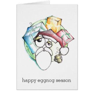 Happy Eggnog Season Greeting Card