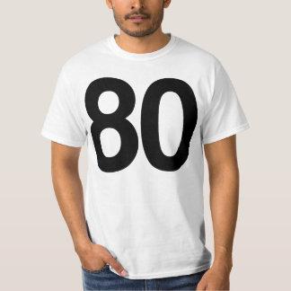 Happy Eightieth Birthday T-Shirt