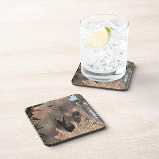 Happy Elephant Beverage Coaster