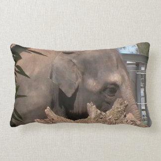 Happy Elephant Throw Pillows