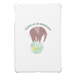 Happy Elephant iPad Mini Cases