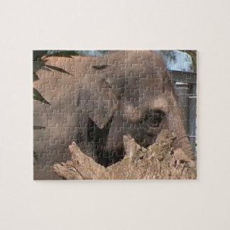 Happy Elephant Jigsaw Puzzles