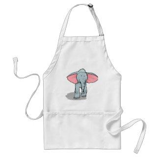 Happy Elephant Standard Apron