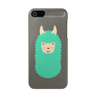 Happy Emoji Llama Incipio Feather® Shine iPhone 5 Case