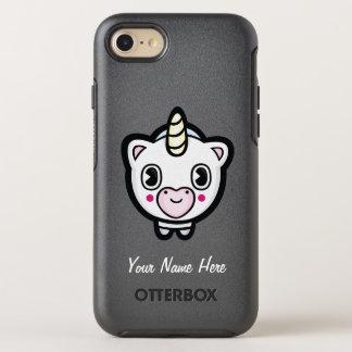 Happy Emoji Unicorn OtterBox Symmetry iPhone 8/7 Case