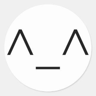 ^_^ Happy Emoticon Stickers