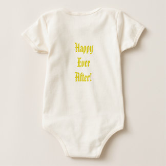 Happy ever after! baby bodysuit