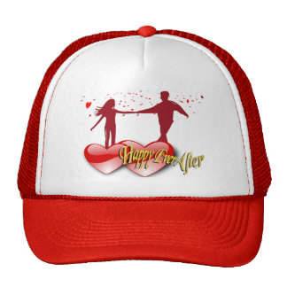Happy Ever After Mesh Hat