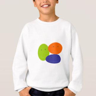 Happy Face Abstract Sweatshirt