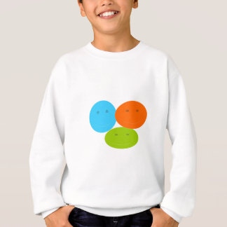 Happy Face Abstract Sweatshirt