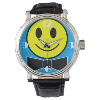Happy Face Bow Tie Watch