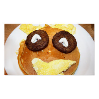 Happy Face Breakfast Business Card