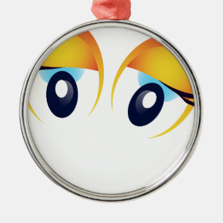 happy face christmas ornament