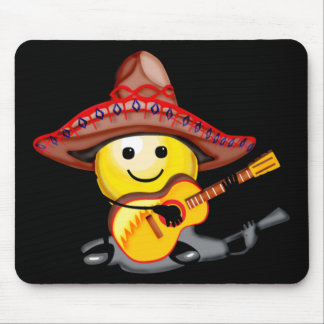 Happy Face Cinco de Mayo T-shirts and Gifts Mouse Pad