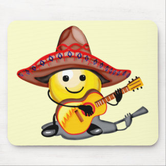 Happy Face Cinco de Mayo T-shirts and Gifts Mouse Mat