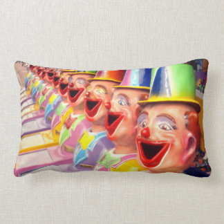 Happy Face Clowns, Lumbar Cushion. Lumbar Cushion