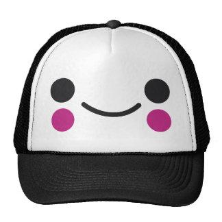 Happy Face Mesh Hat
