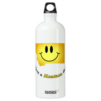 Happy Face - Have a Montana Day! SIGG Traveller 1.0L Water Bottle
