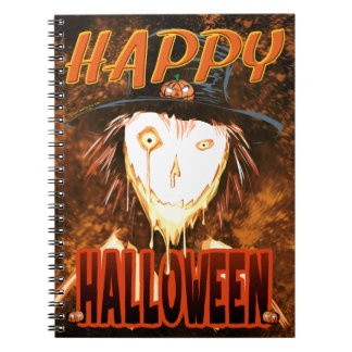Happy Face Jim Spiral Notebook