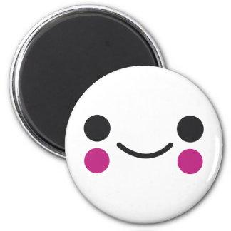 Happy Face Fridge Magnet