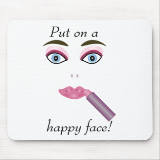 Happy Face Mousepad