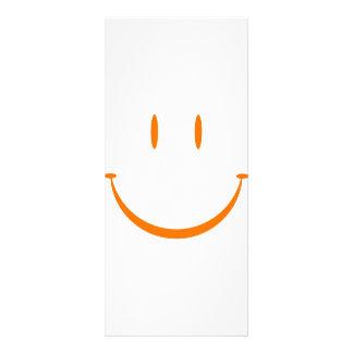 Happy Face: Orange Custom Rack Card