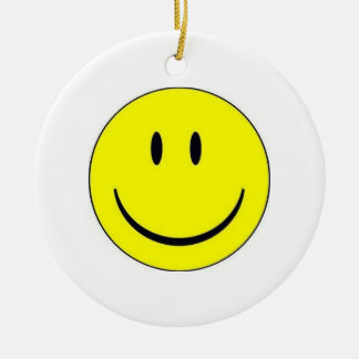 Happy Face Ornament