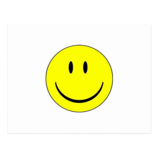 Happy Face Post Card