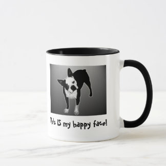 Happy Face - Ringer Mug