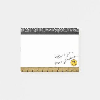 Happy Face Teacher DIY Signature Post-it® Notes