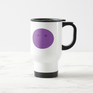 Happy Face Travel Mug