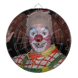 HAPPY FACED CLOWN dart board