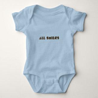 Happy faces baby bodysuit