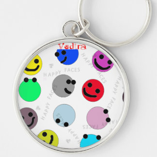 Happy Faces Key Chain for Pre-K Kids