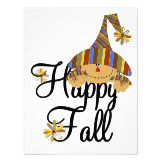 Happy Fall Scarecrow Invitation