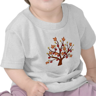 Happy fall tree tee shirt