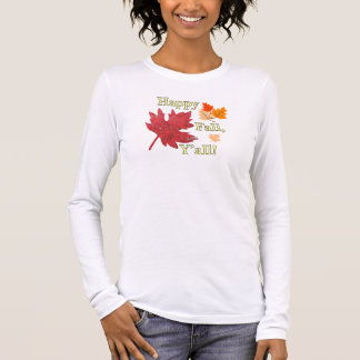 Happy Fall Y'all Leaves Tee
