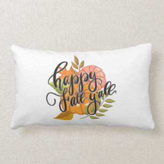 Happy Fall Y'all Lumbar Cushion