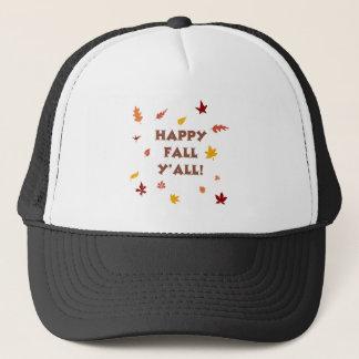 Happy fall ya'll! trucker hat