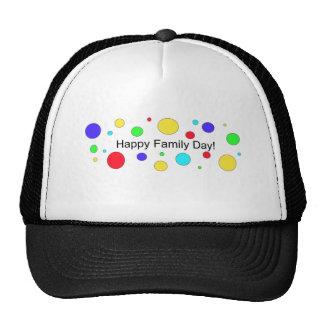 Happy Family Day! Mesh Hats