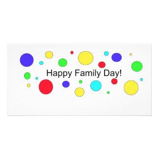 Happy Family Day! Custom Photo Card