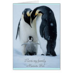 Happy Family - Greeting Card