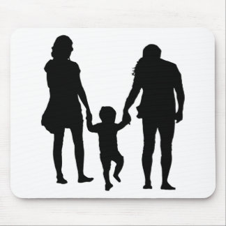 HAPPY FAMILY MOUSE PAD