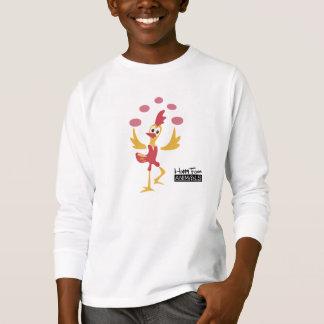 Happy Farm Animal Chicken with Eggs _YV T-Shirt
