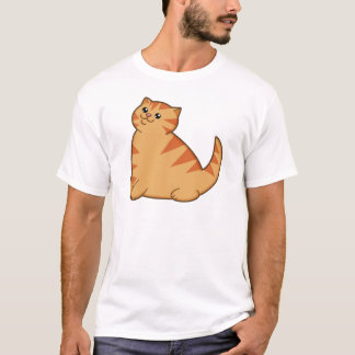 Happy Fat Orange Cat T-Shirt